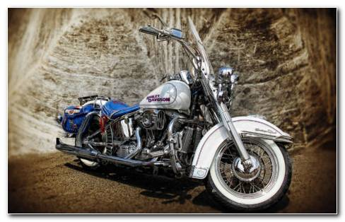 Harley Davidson HDR HD Wallpaper