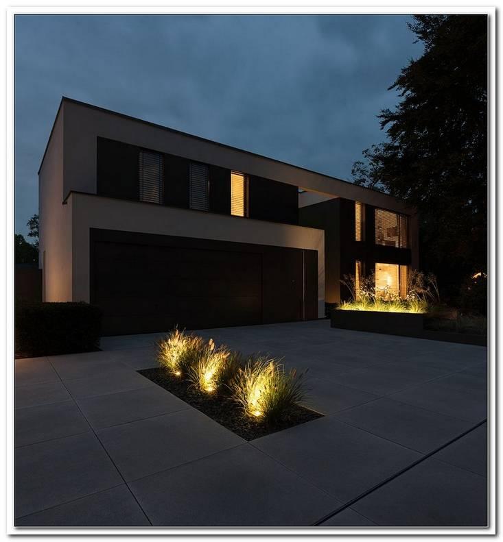 Haus Einfahrt Beleuchtung