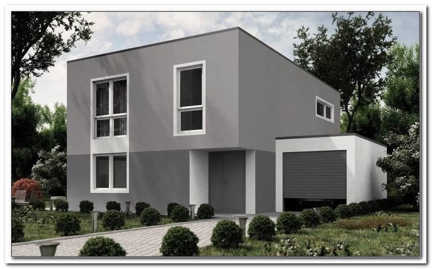 Hausfassade Grau Fenster Anthrazit