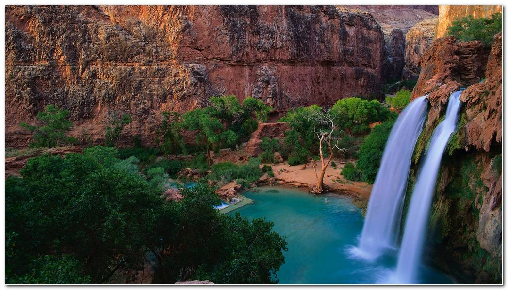 Havasu Falls Background