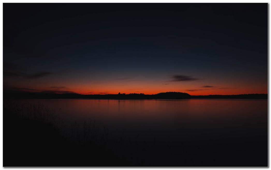 Hd Image Sunset Wallpaper