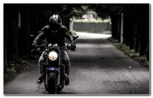 Helmet Biker HD Wallpaper