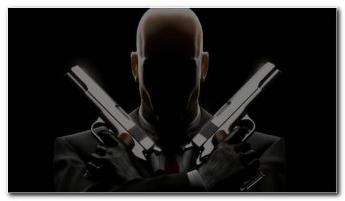 Hitman Gun HD Wallpaper