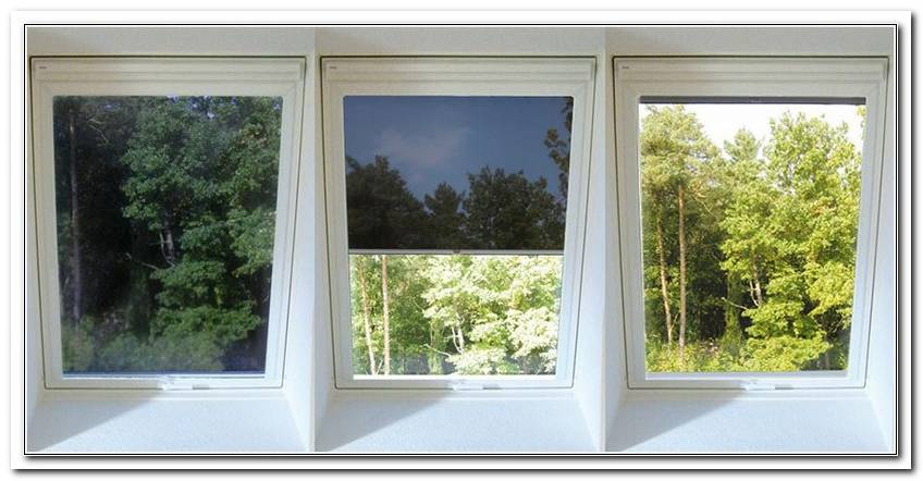 Hitzeschutz Fenster Innen