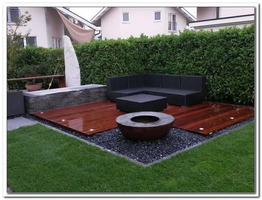 Holz Gartensitzplatz