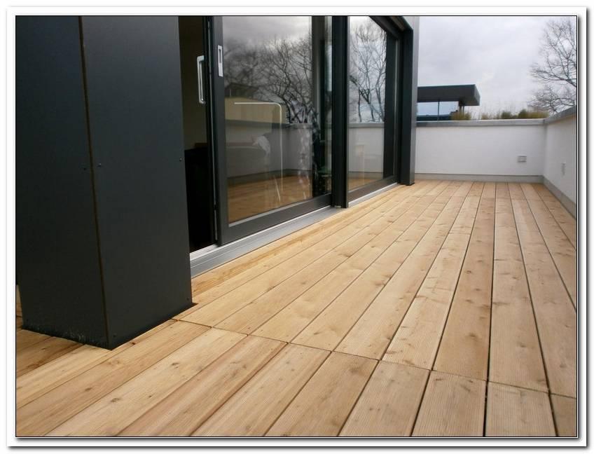 Holzboden F?R Terrassen Und Balkon