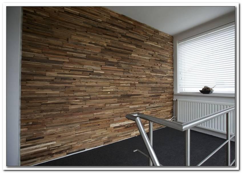 Holzlatten An Wand Kleben