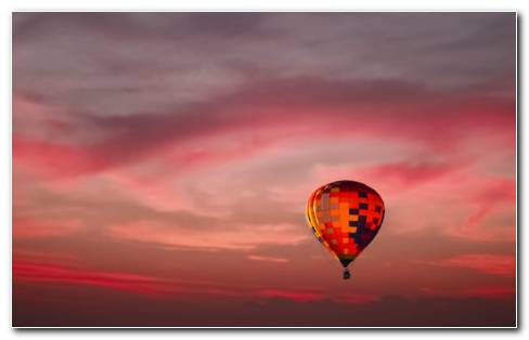 Hot Air Balloon Festival HD Wallpaper