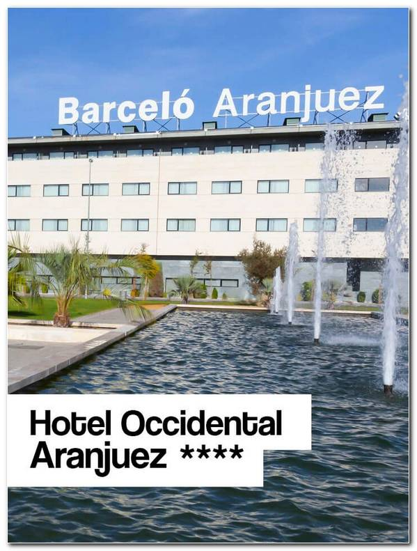 Hotel Occidental Aranjuez