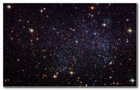 Hubble Black Space HD Wallpaper