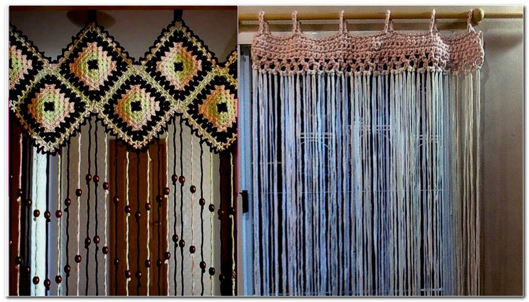 Ideas De Cortinas En Crochet