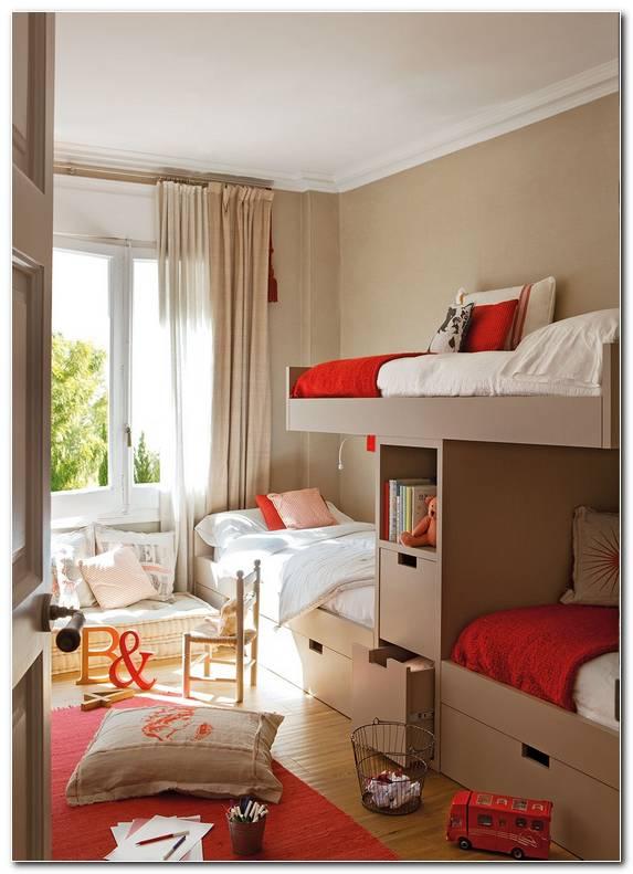 Ideas Para Pintar Dormitorios Infantiles