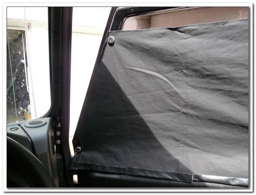 Im Auto Schlafen Fenster Verdunkeln