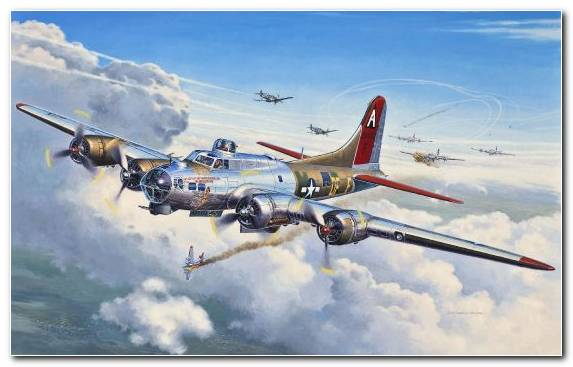 Image B 17G Revell Military Aircraft Boeing B 17 Flying Fortress Flight