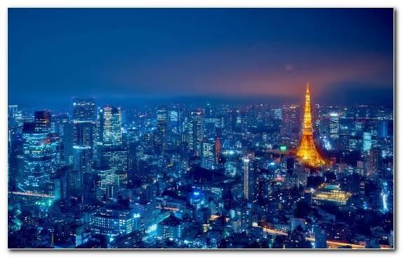 Image Blade Runner Cityscape Hawaii Horizon Tokyo