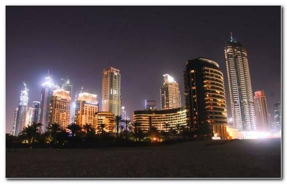 Image Burj Al Arab Jumeirah City Dubai Marina Urban Area Horizon