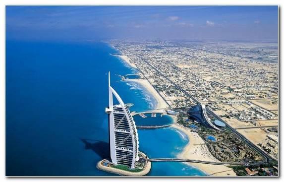 Image Burj Al Arab Jumeirah Luxury Hotel Coast Coastal And Oceanic Landforms Dubai Marina