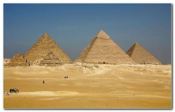 Image Egyptian pyramids Archaeology desert ancient egypt Great Pyramid of Giza