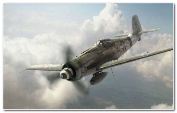 Image Focke Wulf Air Force Dogfight Supermarine Spitfire Aircraft