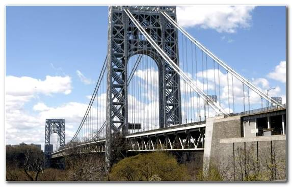 Image George Washington Bridge Girder Bridge Landmark Beam Bridge Cantilever Bridge