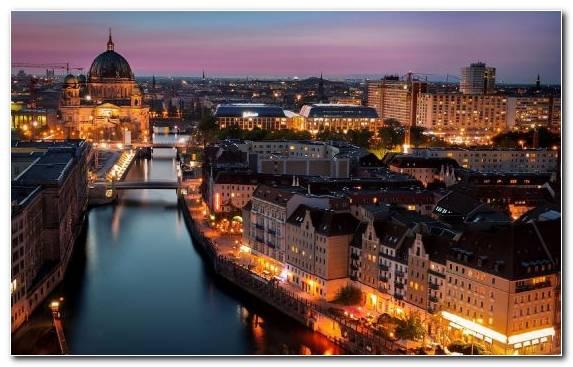 Image German City Building Urban Area Skyline Horizon