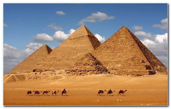 Image Great Pyramid Of Giza Monument Historic Site Wonders Of The World Egyptian Pyramids