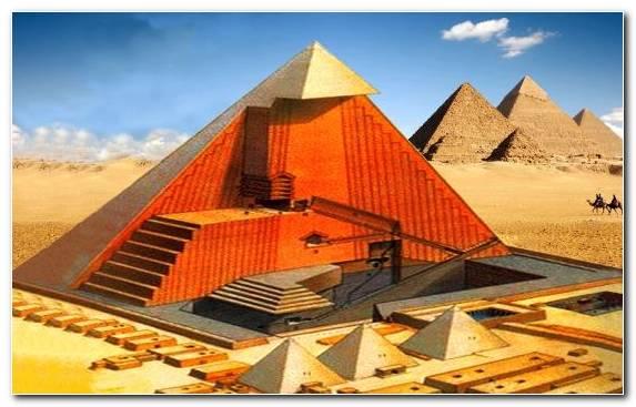 Image Great Pyramid Of Giza Pyramid Historic Site Egyptian Pyramids Sky