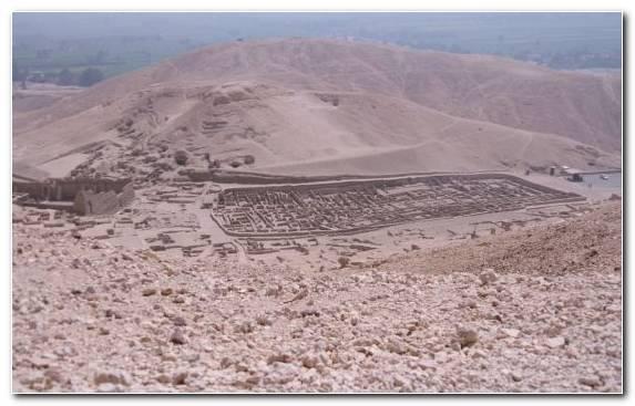 Image Luxor Geology Wadi Badlands Aeolian Landform