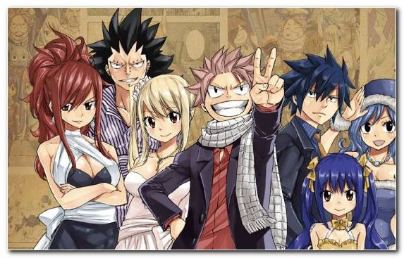 Image Natsu Dragneel Anime Fairy Tail Fiction Happy