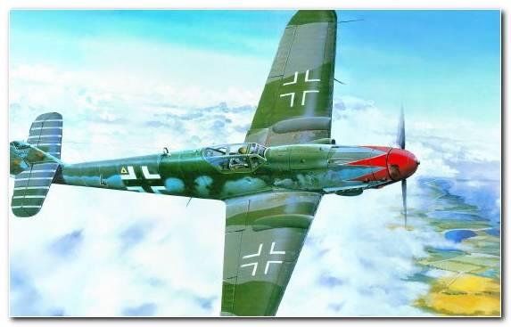 Image North American P 51 Mustang Focke Wulf Fw 190 Military Aircraft Messerschmitt Messerschmitt Bf 109