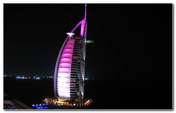 Image Palm Jumeirah Burj Al Arab Tower Jumeirah Lighting