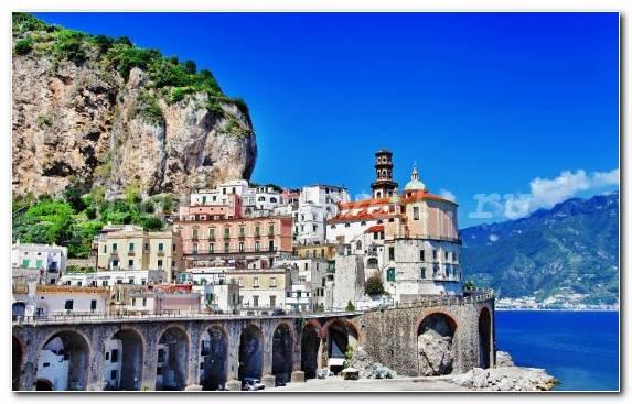 Image Positano Tourism Monastery Sky Coast
