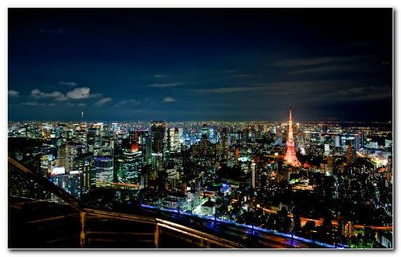 Image Roppongi Hills Sky Horizon Observation Deck Night