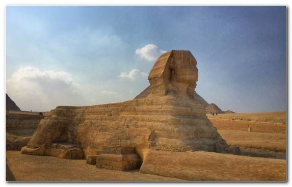 Image Sphinx formation ancient history archaeological site Great Sphinx of Giza