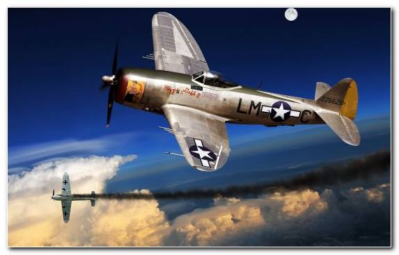 Image United States Of America Propeller Driven Aircraft Republic P 47 Thunderbolt Second World War Military Aircraf
