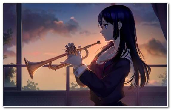 Image Wind Instrument Painter Anime Euphonium Trumpet