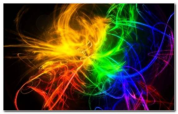 Image Abstract Art Color Wheel Fractal Art Special Effects Rainbow