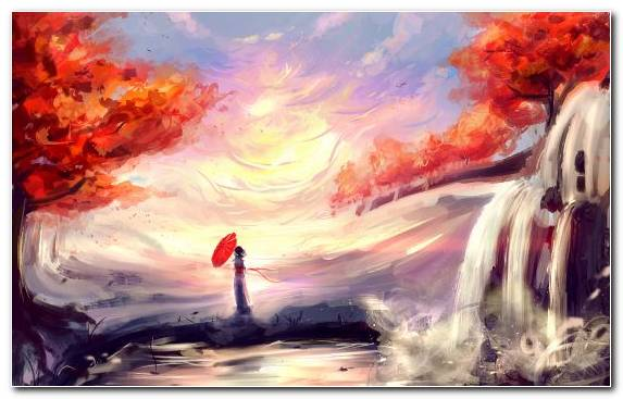 Image Acrylic Paint Creative Arts Anime Watercolor Paint Digital Art
