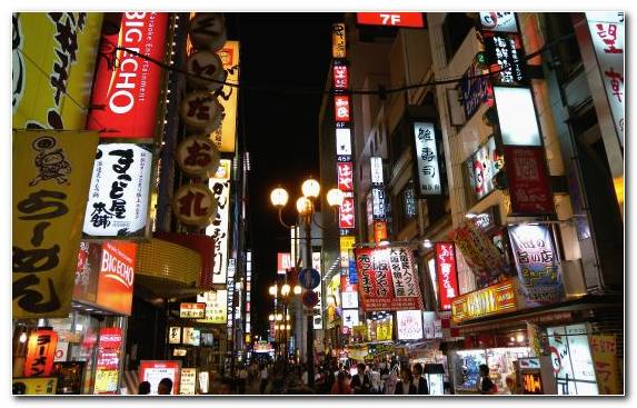 Image Advertising New York City Osaka Metropolis Capital City