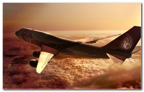 Image Aerospace Engineering Airline Flight Boeing 747 Air Travel