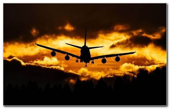 Image Aerospace Engineering Airport Flight Sunset Travel