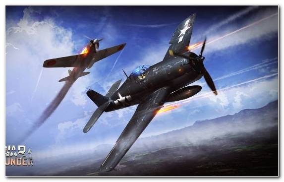 Image Air Racing War Thunder Aviation Propeller Driven Aircraft Grumman F8f Bearcat