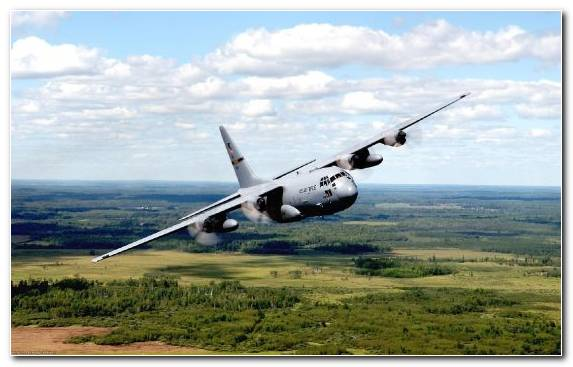Image Air Travel Lockheed C 130 Hercules Aircraft United States Of America Propeller Driven Aircraft