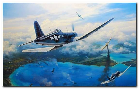 Image Aircraft Airplane Vought O2U Corsair Flight Air Force