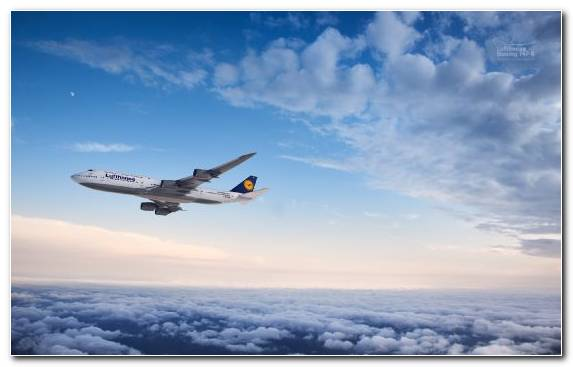 Image aircraft wide body aircraft airplane boeing 747 cloud