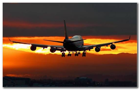 Image Airline Airplane Boeing 747 Airbus Aircraft