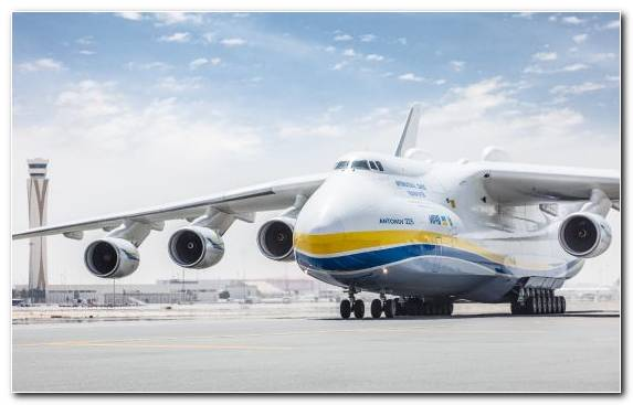 Image Airliner Transport Antonov An 225 Mriya Airplane Dubai