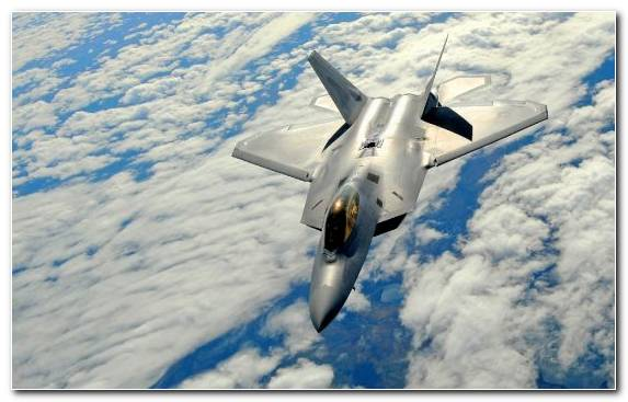 Image Airplane Lockheed Martin F 22 Raptor Flight Fighter Aircraft Military