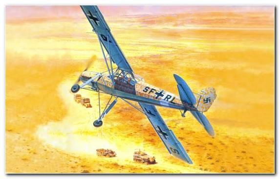 Image Airplane Mockup Rotorcraft Fieseler Fi 156 Fieseler