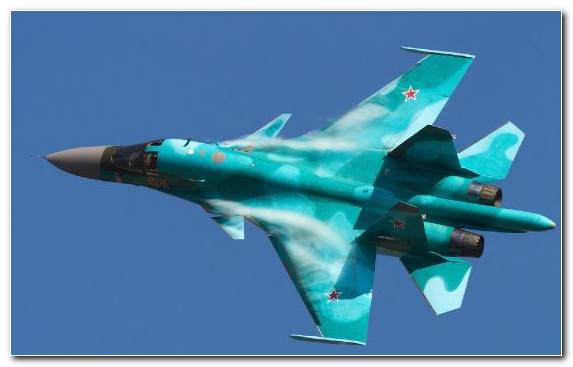 Image Airplane Russia Russian Fighter Jet Sukhoi Jet Aircraft